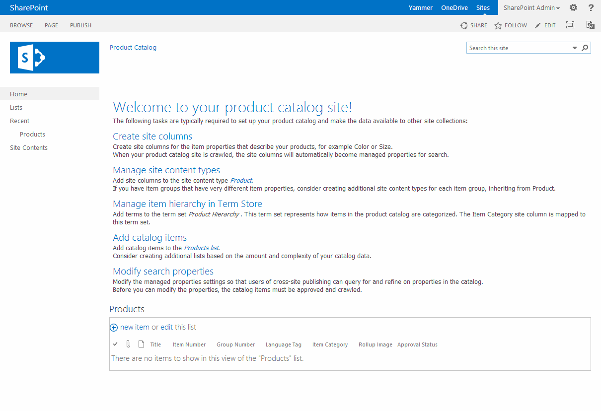 sharepoint 2013 product catalog site template - commonly used web templates in sharepoint 2013 with