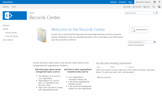 Records Center